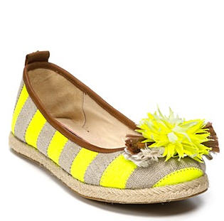 Juicy couture stripe Espadrille