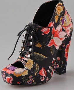 Floral Shoes Spring 2012 - Rodarte for opening ceremony floral shoe