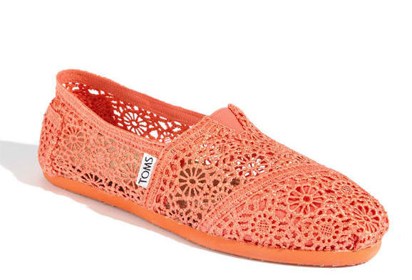Toms Crochet Slip-on