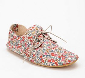 Floral Oxford Spring 2012 - Anniel Floral Lace-Up Oxford