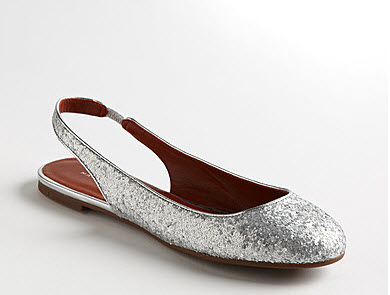 Marc by Marc Jacobs GLitter Flats