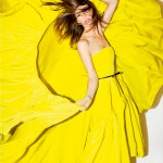 Hanelli tank magazine Jason Wu Yellow Dress