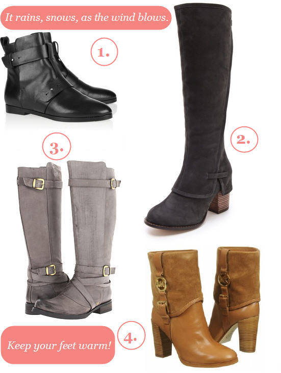 Boots Booties Winter 2013