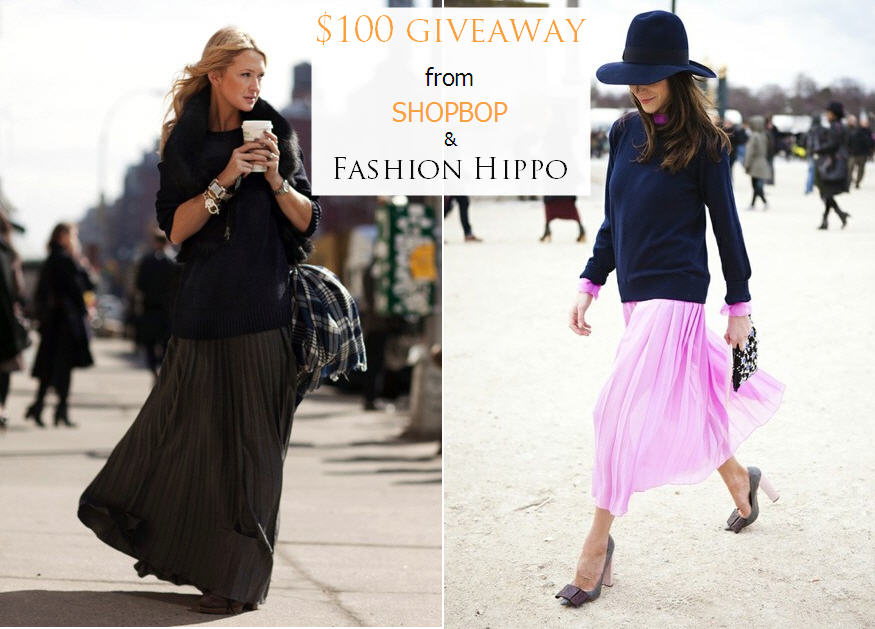 Shopbop and Fashion Hippo Giveaway