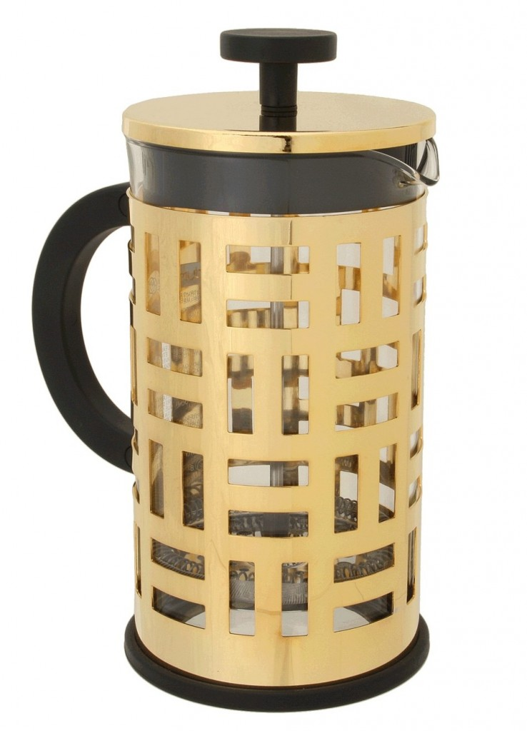 Gold French Press Coffee Maker : Lust List - Bodum Gold French Press Coffee Maker