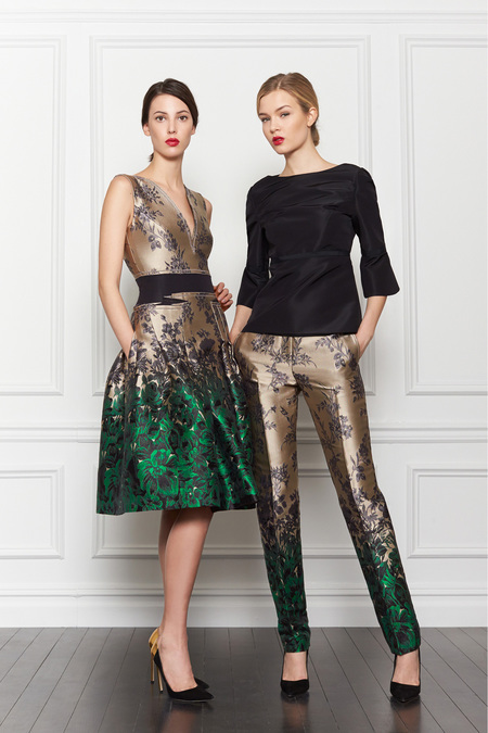 Carolina Hererra Pre-Fall 2013  - via Fashion Hippo