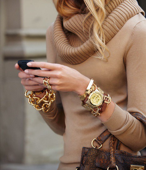 Arm Candy Galore - via Fashion Hippo