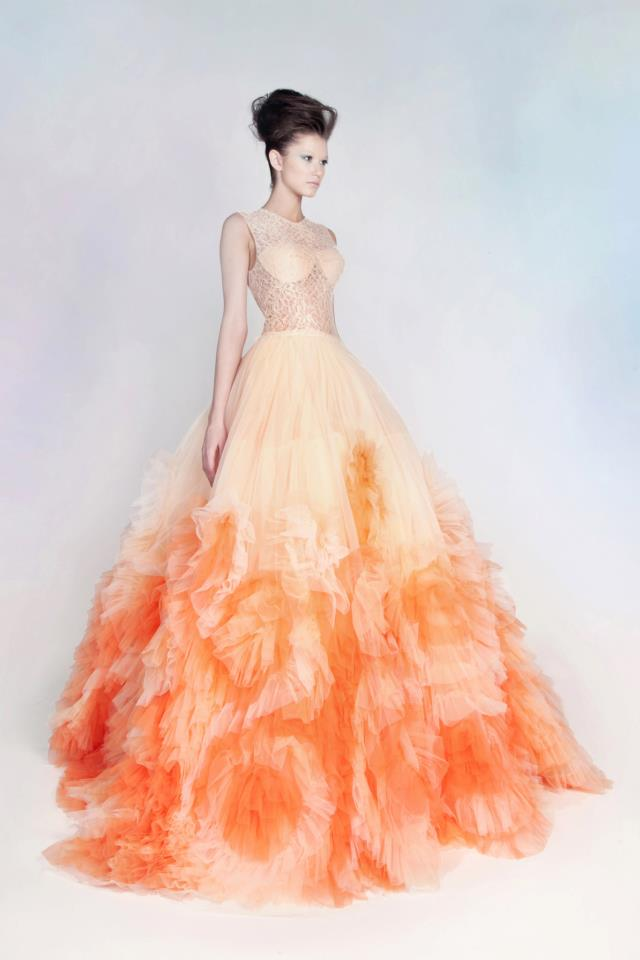 Lace-and-Tulle-Gown via Fashion Hippo