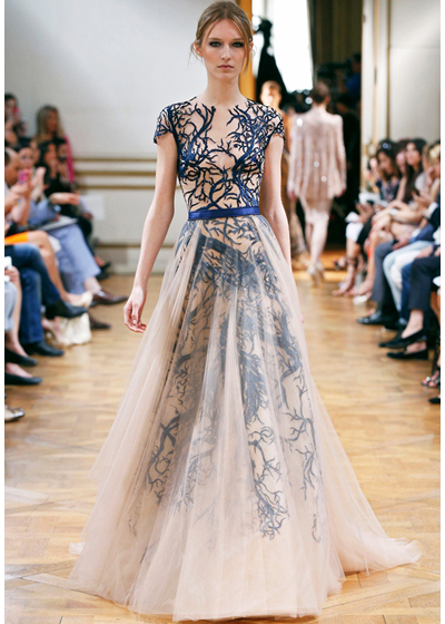 Zuhar Murad Fall 2013 via Fashion Hippo