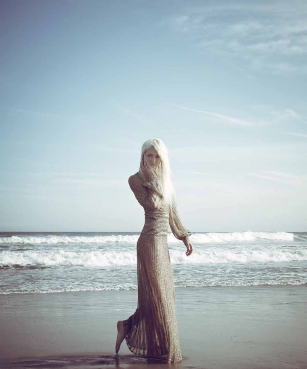 modern mermaid via FashionHippo