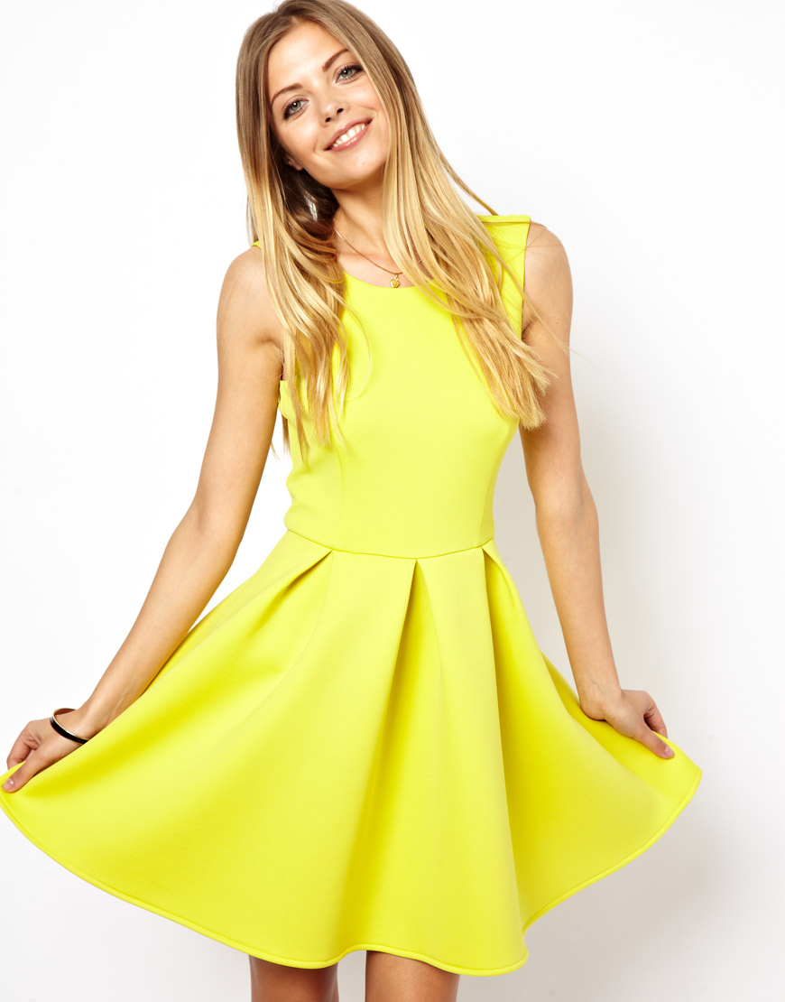 Skater Dress via Fashion Hippo