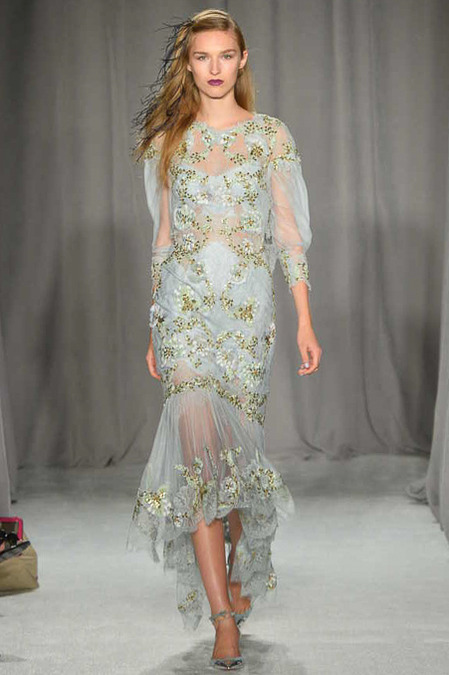 Marchesa SS14 via Fashion Hippo 2