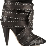 ISABEL MARANT Aleen belted leather and suede ankle boots